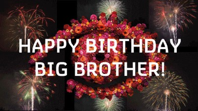 Happy Birthday Big Brother!