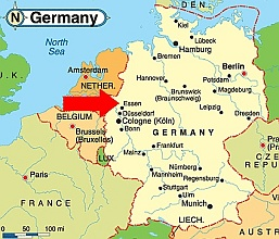 Big Brother Germany - Bottrop map