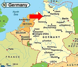 Germany Map Bremen Bremen is ...