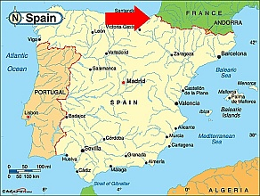 Map Of Spain Eibar.Eibar Spain Map Map Of Us Western States
